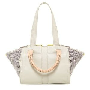 NWT Ramy Brook Dylan Leather Satchel